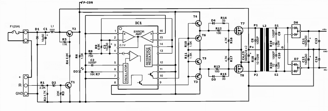Three Circuits Of Pre  Tone Controls By Ne5532 besides Schematics in addition Mp3 Player With Fm Radio besides Laserfil besides Constemp. on electronic siren circuit